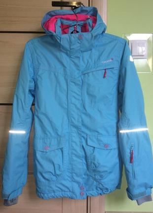 Брендовая горнолыжная, мембранная, термо куртка