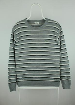 Оригинальный стильный свитер lacoste sport