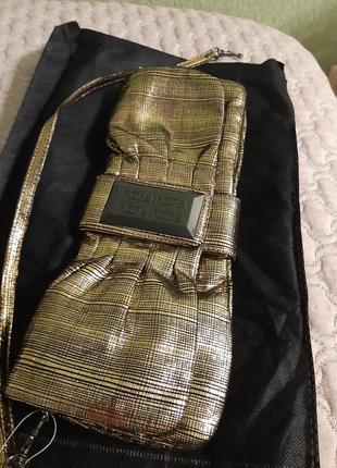Мягкий клатч ,сумка пильмень в стиле bottega veneta