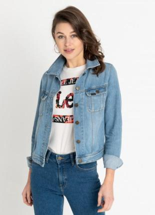 Джинсовый пиджак от lee