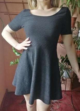 Черное платье divided by h&m