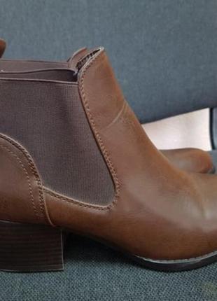 Ботинки челси, сапоги новые демо осень 39 размер