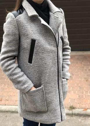 Пальто кожа куртка плащ дублёнка