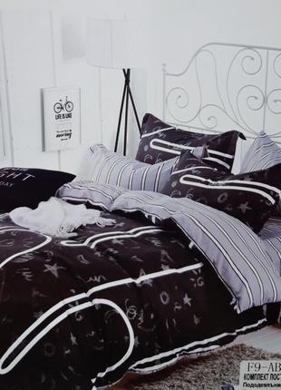 Дропшиппинг опт сатиновое постельное бельё евро размер комплект 4 наволочки комплект