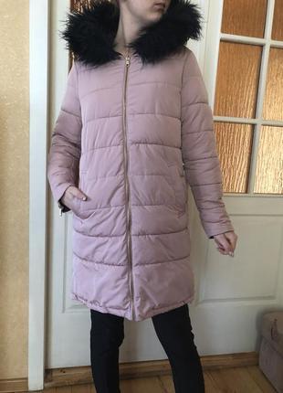 Зимняя куртка пуховик на холофайбере