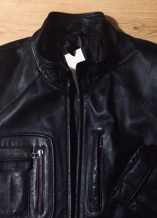 100%кожаная куртка италия