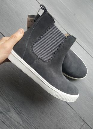 Замшевые ботинки челси от h&m