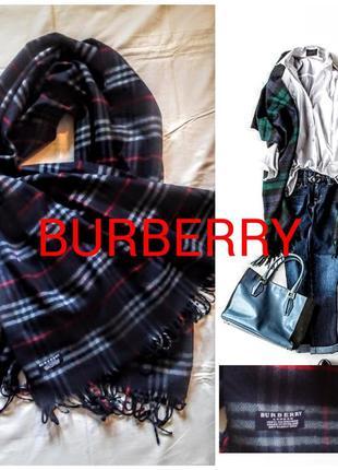 Шарф burberry