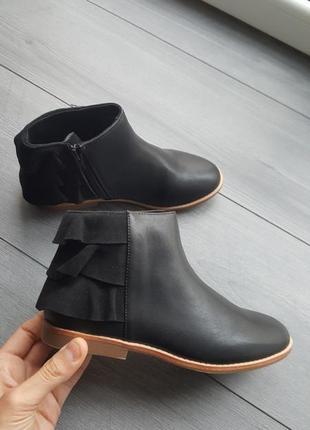 Ботинки ботиночки челси zara