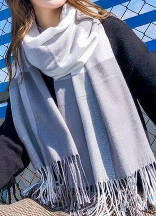 7-52 стильний теплий шарф, накидка, палантин, платок