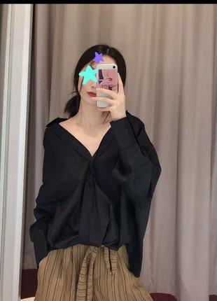 Стильна рубашка а стилі zara