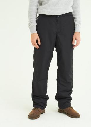 Утеплённые зимние (лыжные / городские) брюки / штаны на синтепоне