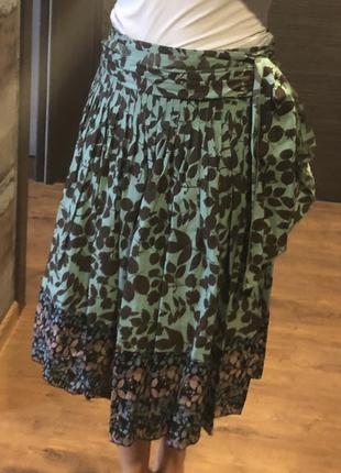 Натуральная оригинальная юбка