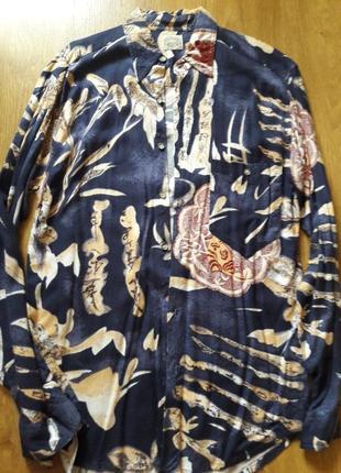 Стильная рубашка с принтом