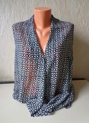 Блуза next, большой размер 46, наш 54