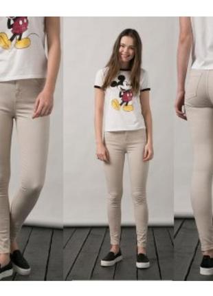 Новые❗джинсы 👖 скинни на девочку испанского бренда bershka