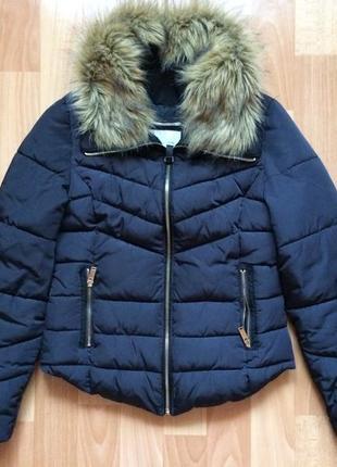 Куртка утеплённая со сьемным мехом