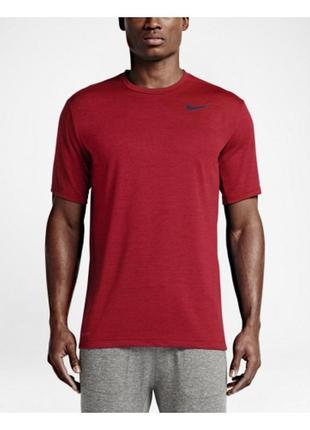 Крутая футболка от nike dri-fit training ss 742228-657