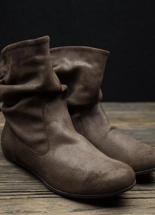 Женские демисезонные сапожки ботинки casual р-41