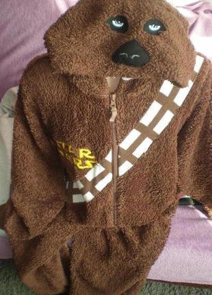 Человечек махровий,star wars. костюм медведя, ведмедя, кигуруми, пижам