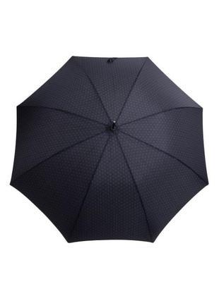 Мужской зонт-трость ferre milano 107c т.синий в ромб