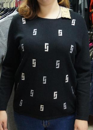 Теплый двойной итальянский свитер италия