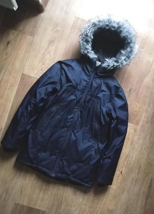 Next очень теплая зимняя курточка, куртка, парка, пуховик