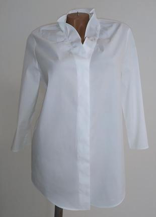 Крутая белоснежная рубашка cos