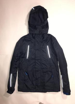 Фирменная куртка на флисе подростку crane nordic expedition, рост 146/152