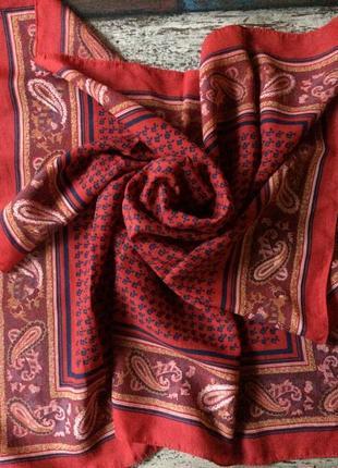 Идеальный шелковый дизайнерский платок франция