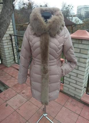 Шикарное пальто - пуховик