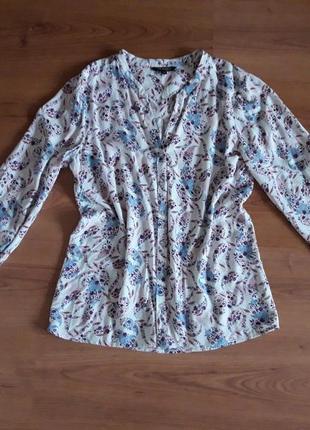 Стильная блузка, рубашка top secret в цветочный принт