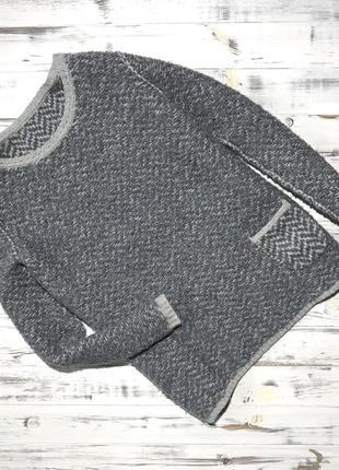 Серый двусторонний свитер six-o-seven ❤️