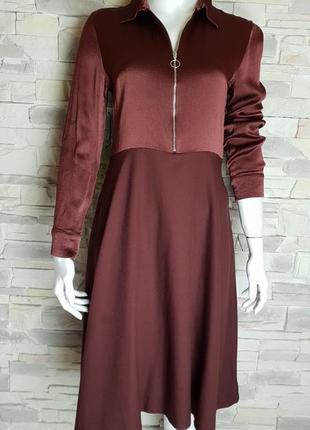 Платье на молнии h&m