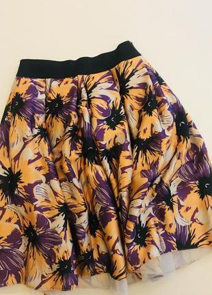 Пышная юбка на резинке