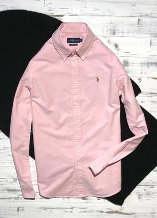 Нежно-розовая рубашка ralph lauren ❤️