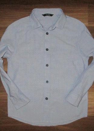 Хорошенькая котоновая рубашечка фирмы джорж на 5-6 лет