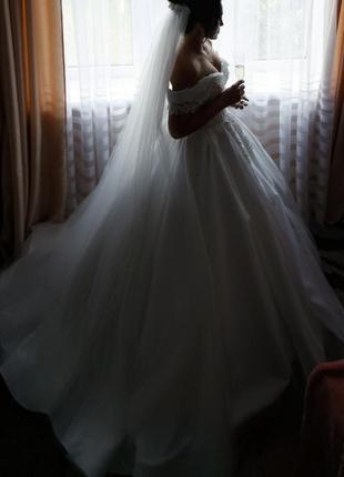 """👑""""королівська """"👑 весільна сукня"""""""
