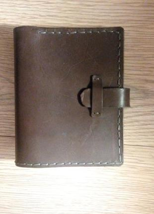 Мужской кошелек, мужское портмоне ручной работы из натуральной кожи