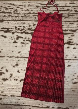 Супер шикарное вечернее платье стрейч  длинное с разрезом!u.s.a .