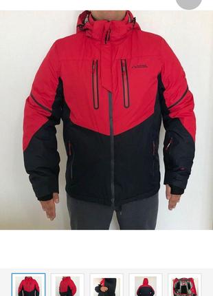 Зимние мембранные лыжные куртки мужские