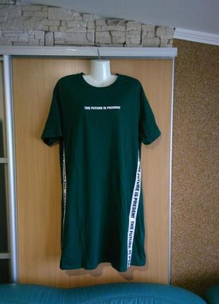 Футболка туника платье h&m,46-48