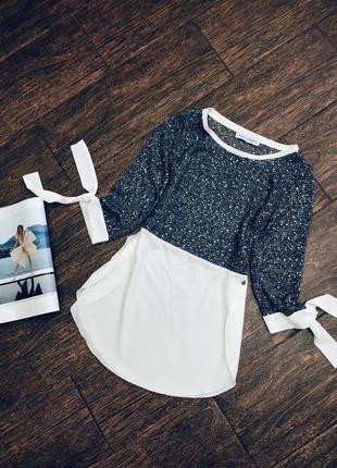 Очень красивая итальянская  блуза с паетками