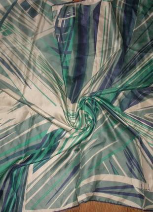 Оригинальный базовый шелковый платок 100% шелк richard allan /72*73 см