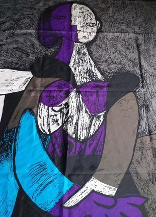Picasso (france) vintage  шелковый платок