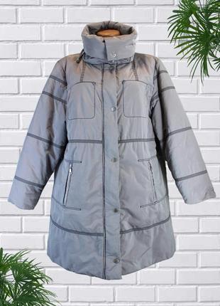 Красивая и практичная куртка большого размера 56-58 (uk22).