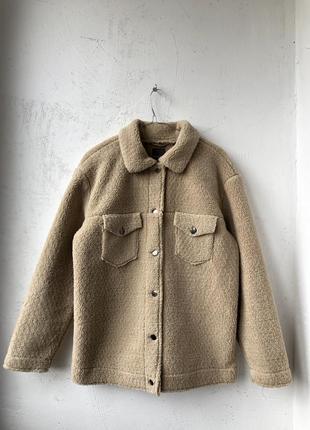 Куртка рубашка тедди primark - 12