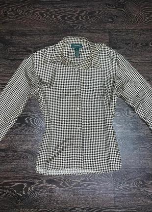 Шелковая рубашка ralph lauren оригинал