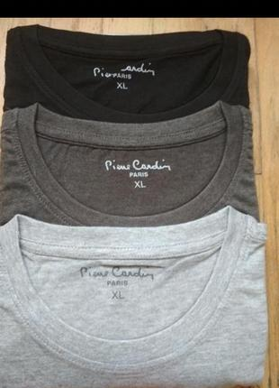 Базовые базовая футболка pierre cardin