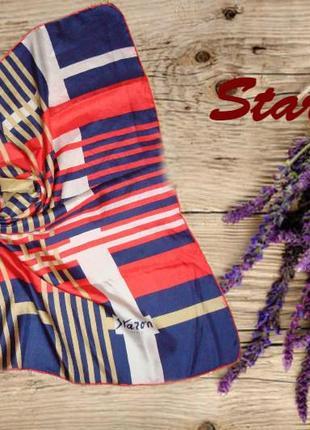 🌹🌹легкий летний женский шарф staron paris шов руаль 🌹🌹🌹